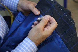 BayTerzi kalitesiyle terzi işi dikimle hazırlanan ceket, takım elbise